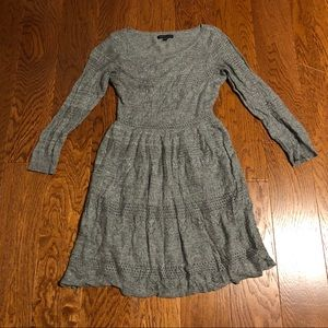 American Eagle gray long sleeved dress